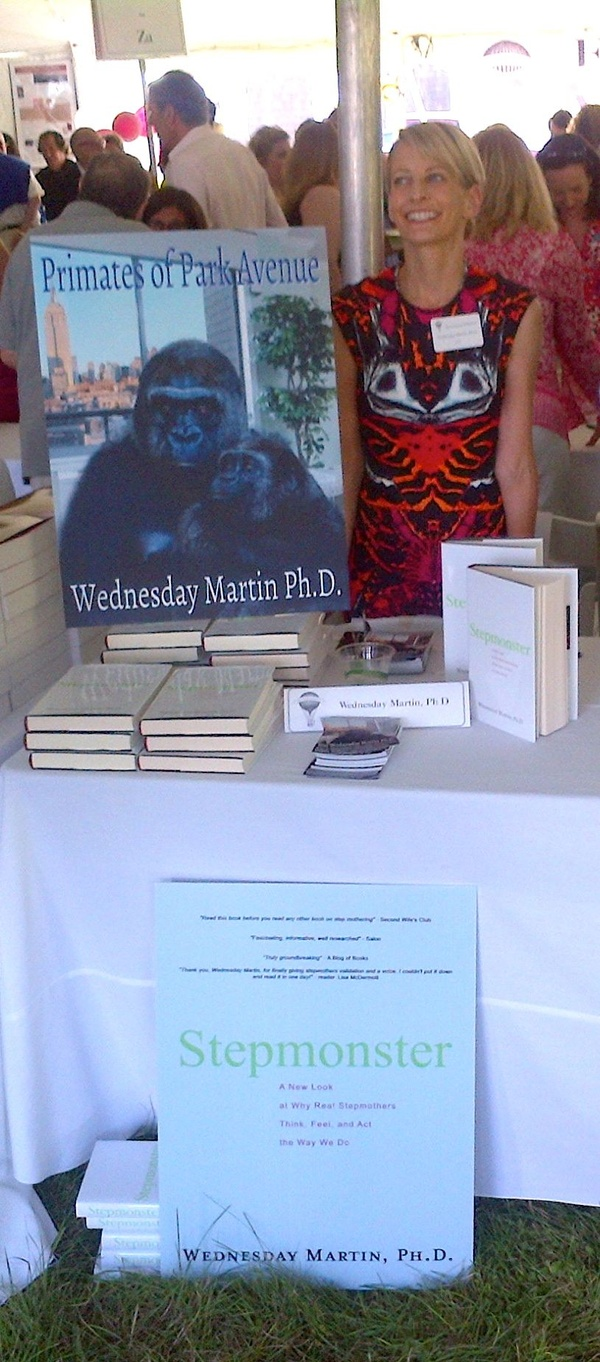 Selling my wares for a good cause….Authors Night 2013…thanks to Sarah Burton for the dress!