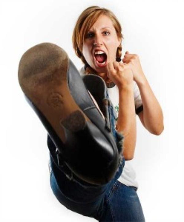 Woman Kicking Ass 6